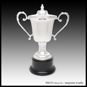 S0610 silver trophy, magnum