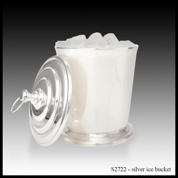 S2722 Silver Ice Bucket-min