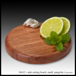 teak cutting board pangolin