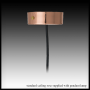 29 30 copper ceiling rose