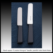 Black square handle – parallel blade
