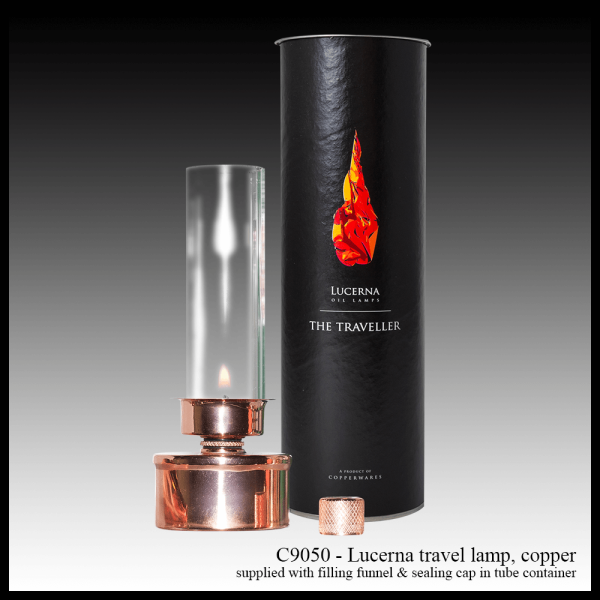 C9050 Lucerna travel lantern copper