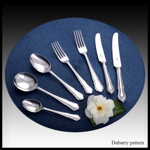 Dubarry pattern - stainless steel & silver plate cutlery