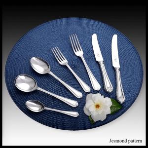 Jesmond pattern - stainless steel & silver plate cutlery
