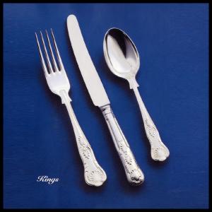 Kings pattern - silver plate cutlery