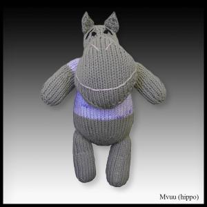 Mvuu the hippo