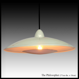 The Philosopher copper pendant lamp shade