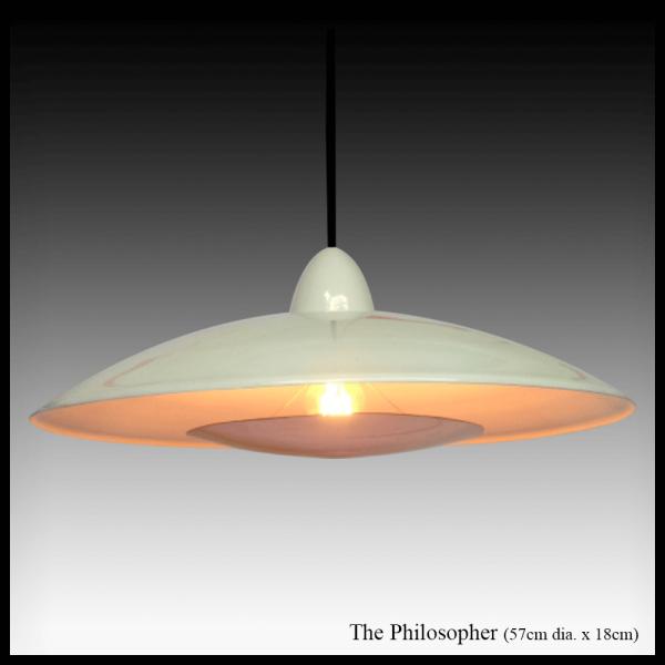 The Philosopher pendant copper light shade