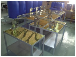 Copper Sorting Tables