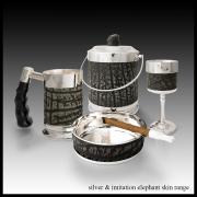 silver & imitation elephant skin range-min