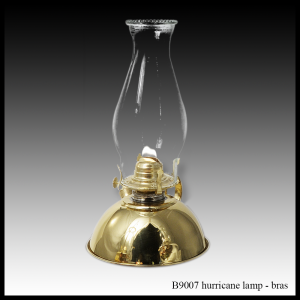 B9007 Hurricane Lantern - brass