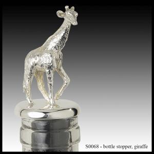 S0068 bottle stopper - giraffe
