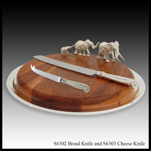 S6302 Bread Knife and S6303 Cheese Knife