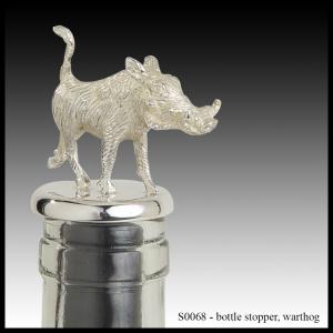 silver bottle stopper warthog