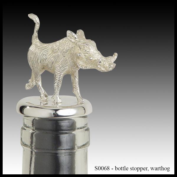 S0068 bottle stopper – warthog
