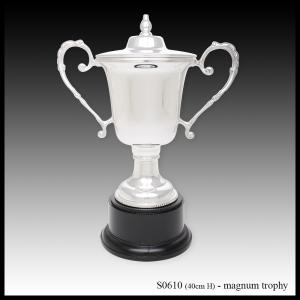 S0610 silver trophy, magnum