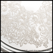 S1911P Round Silver Tray – Pattern Detail-min