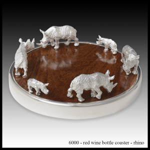S6000 bottle coaster - rhino