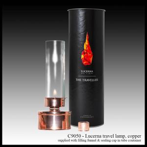 C9050 Lucerna travel lamp, copper