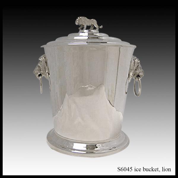 S6045 ice bucket lion